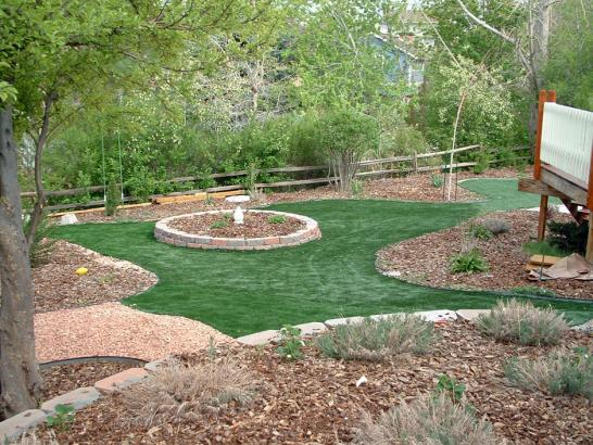 Artificial Grass Photos: Artificial Lawn Guadalupe, Arizona Paver Patio, Backyard Landscaping