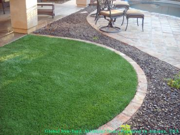 Artificial Grass Photos: Fake Lawn Komatke, Arizona Grass For Dogs, Front Yard