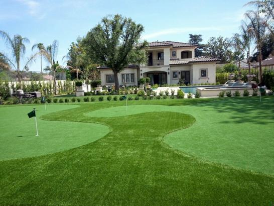 Artificial Grass Photos: Installing Artificial Grass Greer, Arizona Putting Green Carpet, Landscaping Ideas For Front Yard
