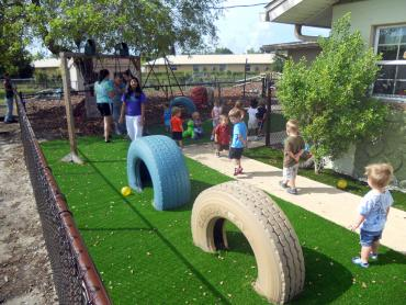 Artificial Grass Photos: Synthetic Grass Tombstone, Arizona Landscaping Business, Commercial Landscape
