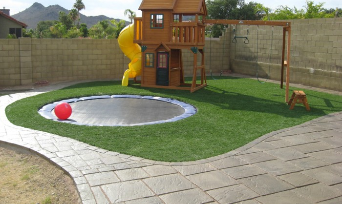 Synthetic Grass for Landscape Lawns Mesa, Arizona